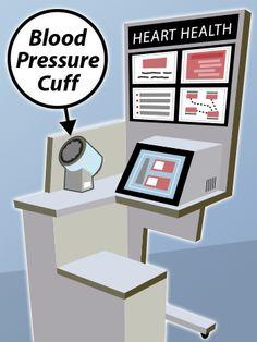 Los quioscos para medir la presión arterial no son efectivos para todos. Conozca por qué #corazon #salud