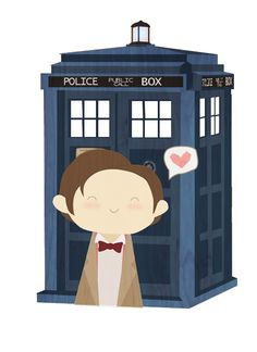 11 and his TARDIS