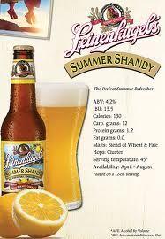 leinenkugel summer shandy!