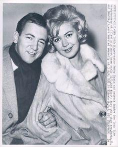 Bobby Darin and Sandra Dee. Awww!