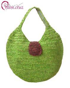 Raffia Bag by Chum Cruz