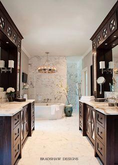 Master Bath Retreat On Pinterest Transitional Bathroom