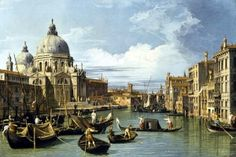 The Grand Canal - Famous painting jigsaw puzzle