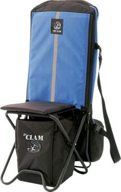 """This chair is a wonderful addition to my ice gear, it has alot of storage for my gear and ice tip ups. now i dont need to carry an extra chair its built right in."" -Customer Review of the Clam Outdoors Ice Chair"