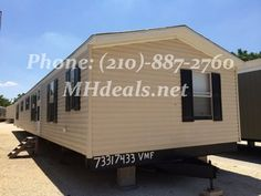 $41,900 (210)-887-2760 http://mhdeals.net/gallery/singlewide-trailers/San-Antonio-TX-2007CLS632-V Beautiful 3 bed 2 bath Single Wide with lots of cabinet space in a wrap-around kitchen. A large 1,216 square feet (16 x 76) makes up this home with many features. The home interior has wood laminate flooring, and has great looking carpet complimenting the wood style. Large rooms including laundry room and living room. #sanantonio #home #beautifulhome