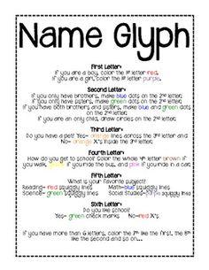 Glyph-Back to School