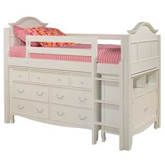 Our loft bed is the answer to small space dilemmas. I want something like this for bubs room. V.W.