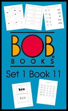 FREE BOB Books Set 1 Book 11 Printable