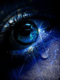 Blue with a tear~~