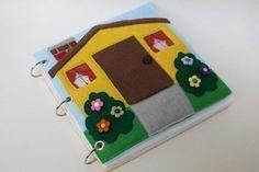 ePattern for a Portable Dollhouse. $8.00, via Etsy.