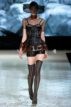 Alexander McQueen Spring 2013 RTW - Review - Collections - Vogue