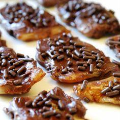 Chocolate-Caramel Bacon Candy. Salty & Sweet..