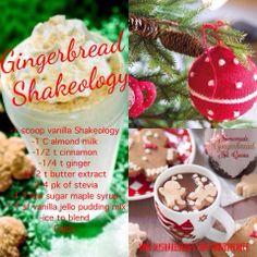 ... Cookies, Gingerbread Shakeology Yummy, Gingerbread Shakeoftheday