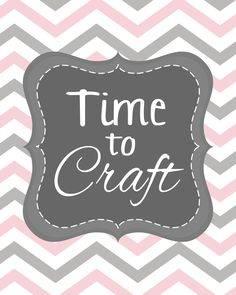 craft room printable