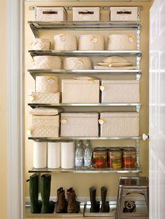 Basement storage solution