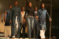 Anna Adero from Kenya at the FAFA 2012 Emerging Designer competition