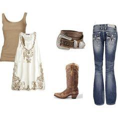 Country girl - summer night.