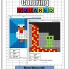 Another Minecraft inspired pack of addition and subtraction coloring pages. You get 15 brand new worksheets in our Minecraft Super Pack. These page...