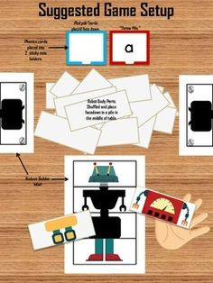 ROBOT SHOP PHONICS CENTER - Robot Shop Phonics Center: students build a robot while learning letters, CVC words and sight words. TeachersPayTeachers.com