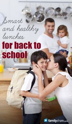 Smart and healthy lunches for back to school (makes the morning simple and lunchtime GREAT!)