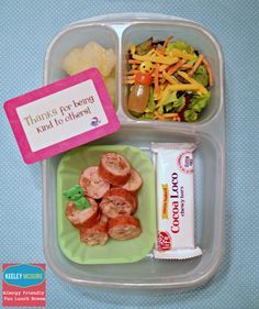 Lunch Made Easy: {Allergy Friendly} School LunchBox Ideas   @EasyLunchboxes @LunchboxLove