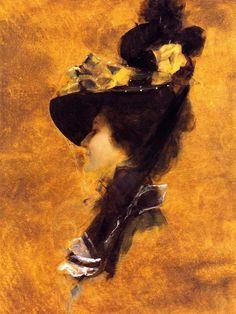 Frances Ross, ca 1898