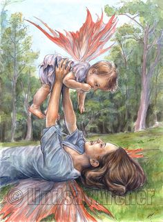 """Stretching Her Wings"" - Lindsay Archer"