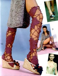 Irish crochet. Russian designers.