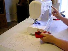 How to Make a Doll Camisole Pt. 1