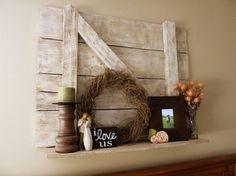 Barn Board Shelf