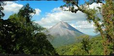 Costa Rica - Bike around Lake Arenal, riders will coast along rolling hills and stunning scenery.