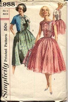 Full Skirt Dress and Jacket