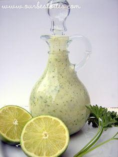 Cilantro-Lime Vinaigrette | Our Best Bites