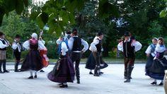Slovenian Folk Dancers