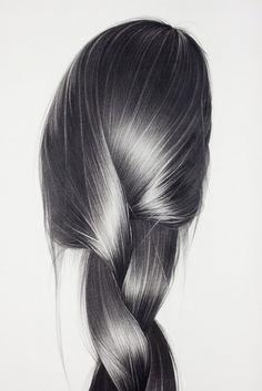 Hair illustrations by Hong Chun Zhang