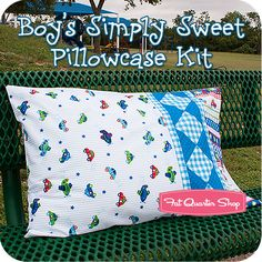 Boy's Simply Sweet Pillowcase Kit Featuring Simply Sweet by lief! Lifestyle