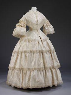 1850s WEDDING DRESSES