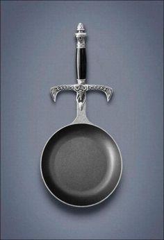 Epic frying pan.