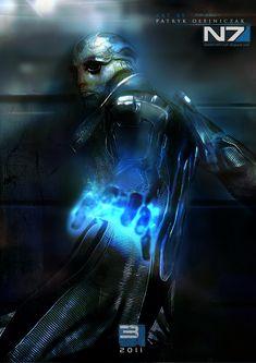 Mass Effect 3 Thane Krios by patryk-garrett.deviantart.com on @deviantART