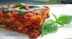 Gourmet Girl Cooks: Low Carb Lasagna w/ Grain-Free Noodles