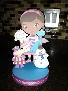 Doc McStuffins  Birthday Party Centerpiece