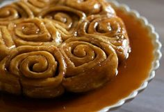 Salted caramel sticky buns from A Cup of Jo by Audra Fullerton salt caramel, food, caramel sticki, dessert