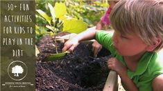Fun Activities for Kids to Play in the Dirt - Redeem Your Ground | RYGblog.com