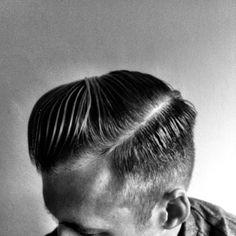 Barber cut.