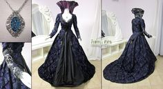 Regina Mills Once Upon a Time Purple Gown by Lillyxandra. Whoa, cool!