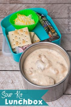 Soup kit themed bento lunch box and more fun + easy lunchbox ideas for kids