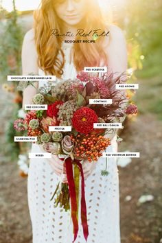 Fall fashion and floral wedding inspiration | Photo by Marianne Wilson Photography