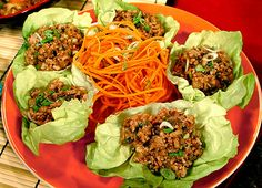 Chicken Lettuce Wraps (Viking River Cruises) Light, healthy and low-carb, these lettuce wraps are a great starter for any meal or they can be featured as an entrée themselves.