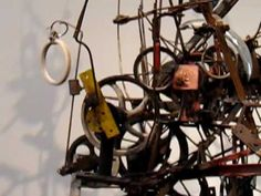 Jean Tinguely - Kinetic Sculpture