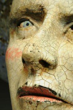 journal, patina, old faces, statu, painted faces, sculptur, art dolls, art pieces, eye
